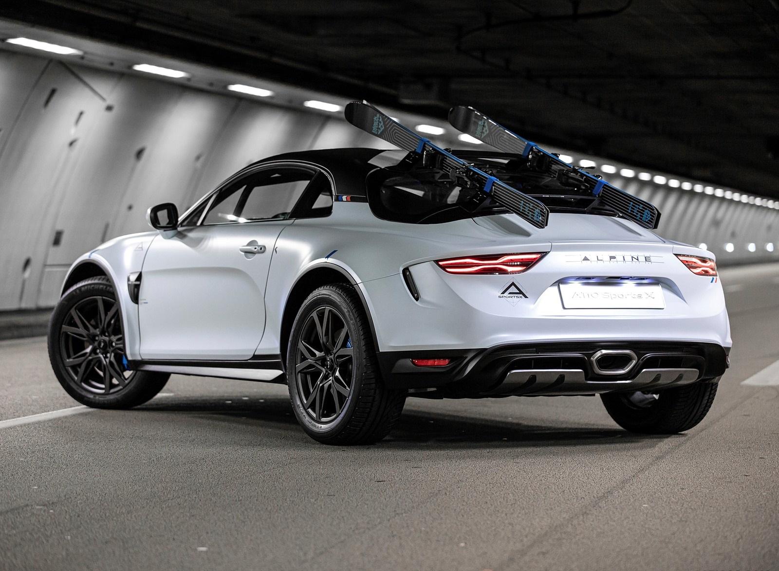 2020 Alpine A110 SportsX Concept Rear Three-Quarter Wallpapers (6)
