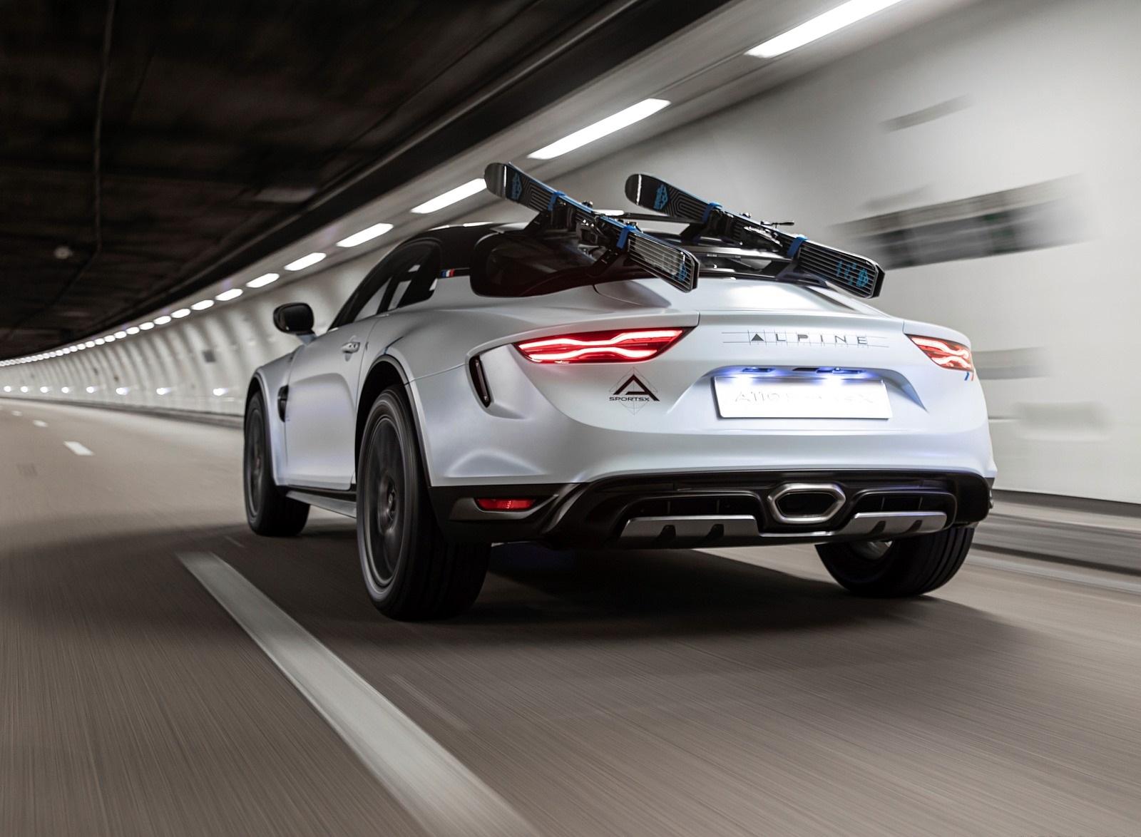 2020 Alpine A110 SportsX Concept Rear Three-Quarter Wallpapers (3)
