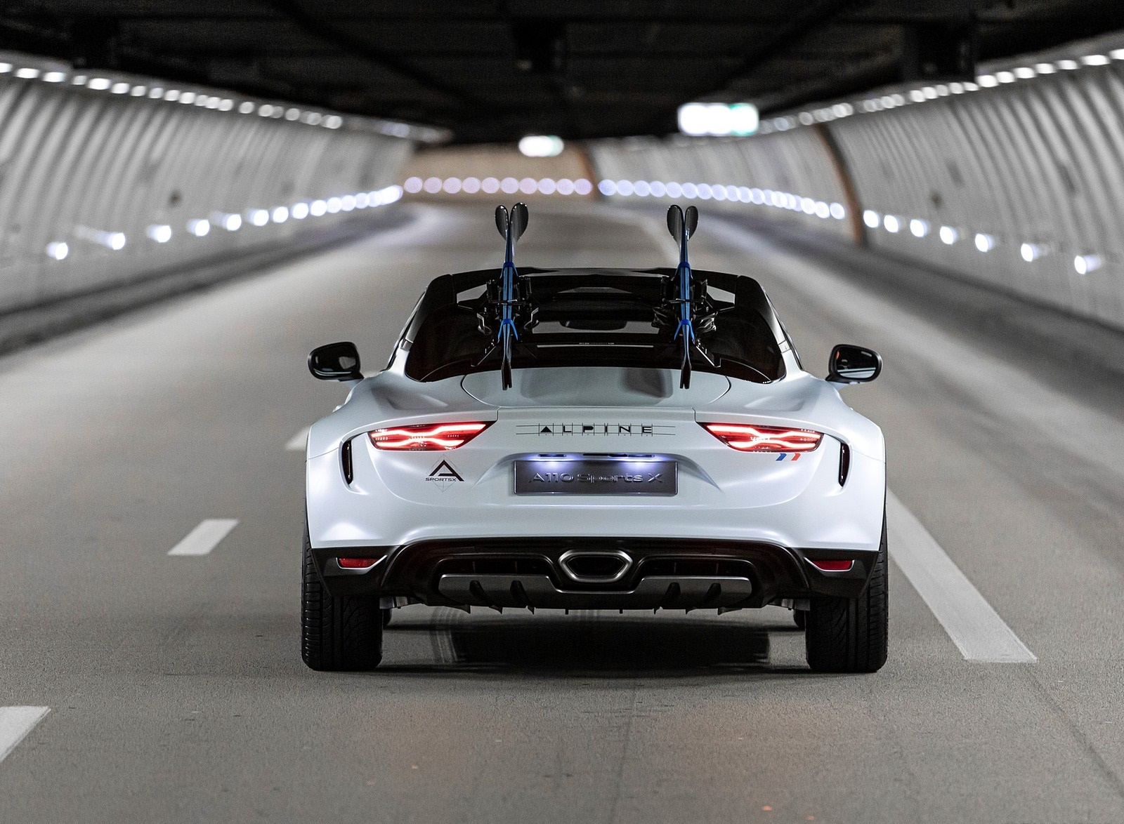 2020 Alpine A110 SportsX Concept Rear Wallpapers (7)