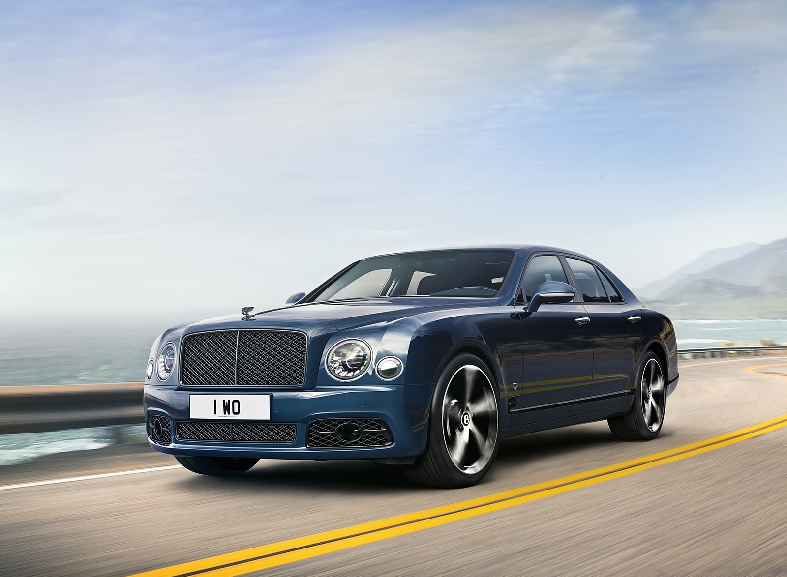 2020 Bentley Mulsanne 6.75 Edition by Mulliner Front Three-Quarter Wallpapers (1)