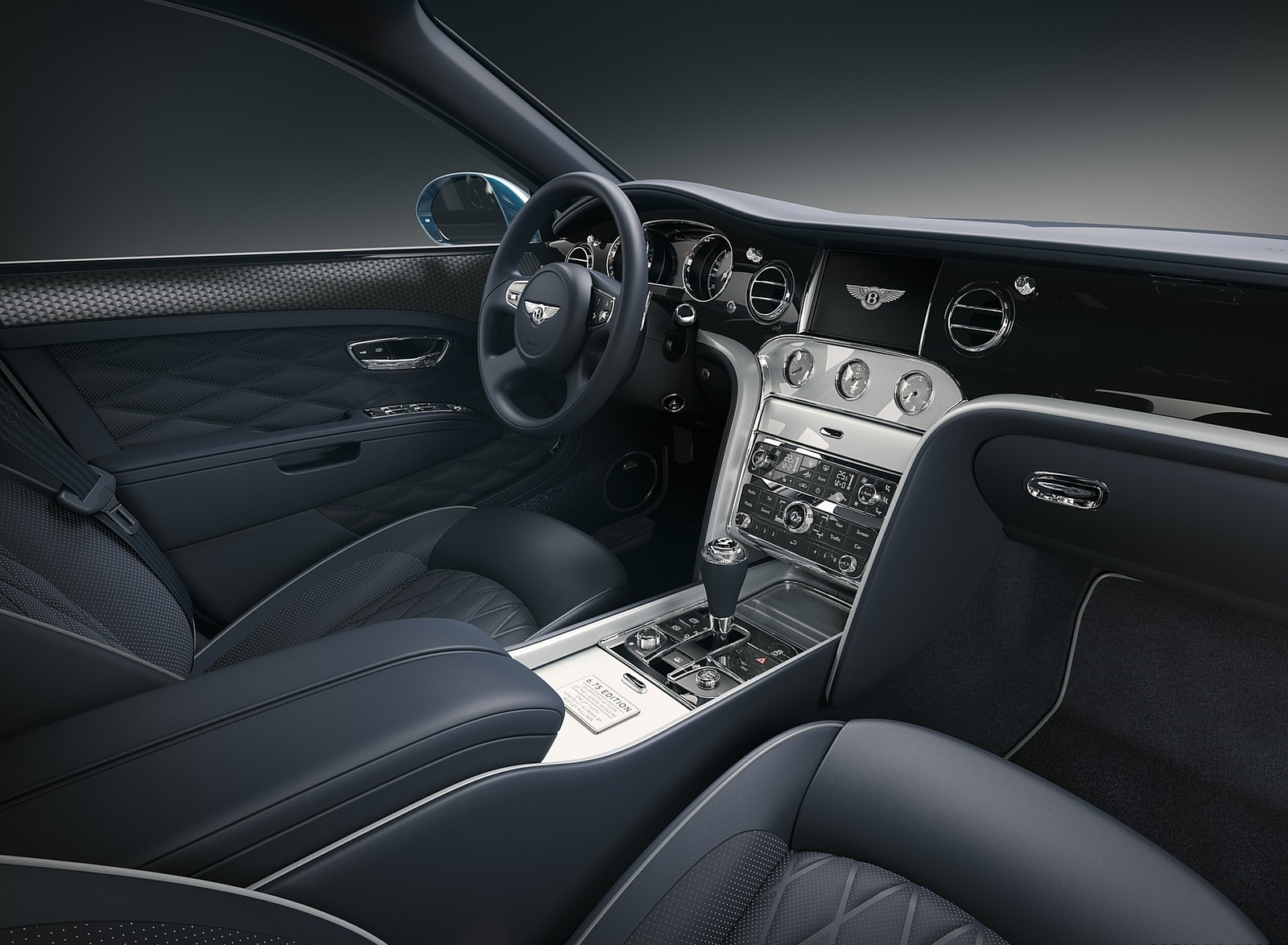 2020 Bentley Mulsanne 6.75 Edition by Mulliner Interior Wallpapers (10)