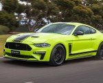 2020 Ford Mustang R-Spec (Color: Grabber Lime) Front Three-Quarter Wallpapers 150x120 (14)
