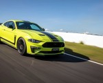 2020 Ford Mustang R-Spec (Color: Grabber Lime) Front Three-Quarter Wallpapers 150x120 (4)