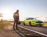2020 Ford Mustang R-Spec (Color: Grabber Lime) Front Three-Quarter Wallpapers 150x120 (21)