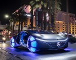 2020 Mercedes-Benz VISION AVTR Concept in Las Vegas Front Three-Quarter Wallpapers 150x120 (2)