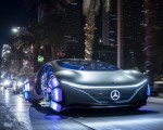 2020 Mercedes-Benz VISION AVTR Concept in Las Vegas Front Wallpapers 150x120 (3)