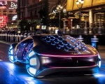 2020 Mercedes-Benz VISION AVTR Concept in Las Vegas Rear Three-Quarter Wallpapers 150x120 (5)