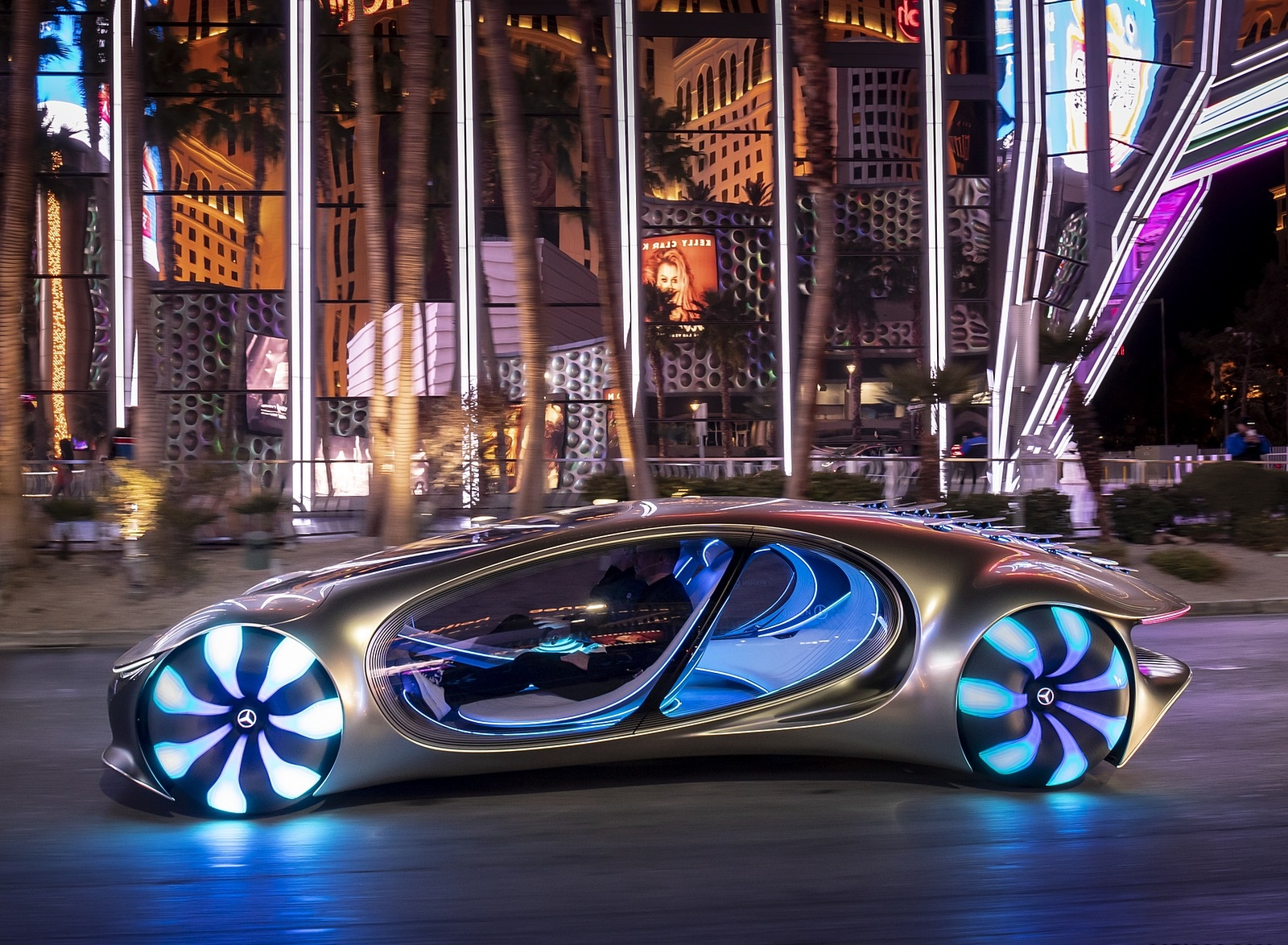 2020 Mercedes-Benz VISION AVTR Concept in Las Vegas Side Wallpapers (9)