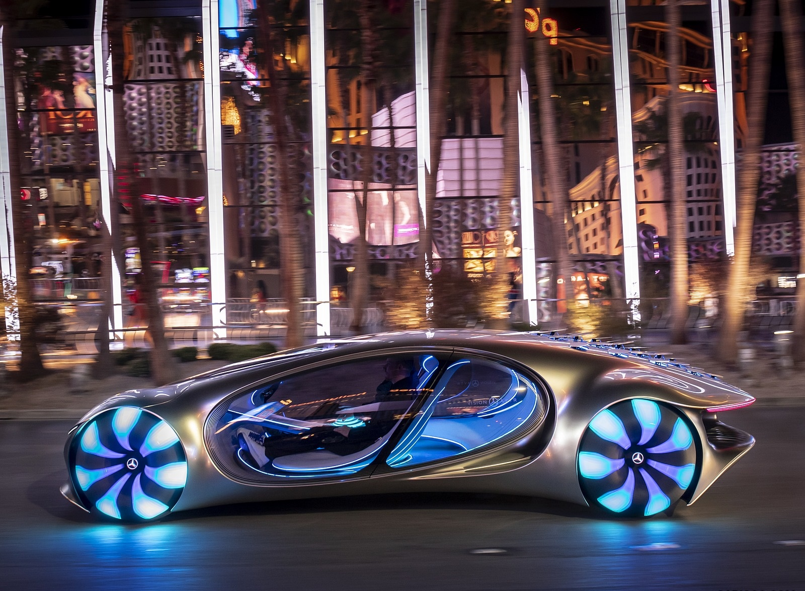 2020 Mercedes-Benz VISION AVTR Concept in Las Vegas Side Wallpapers (10)