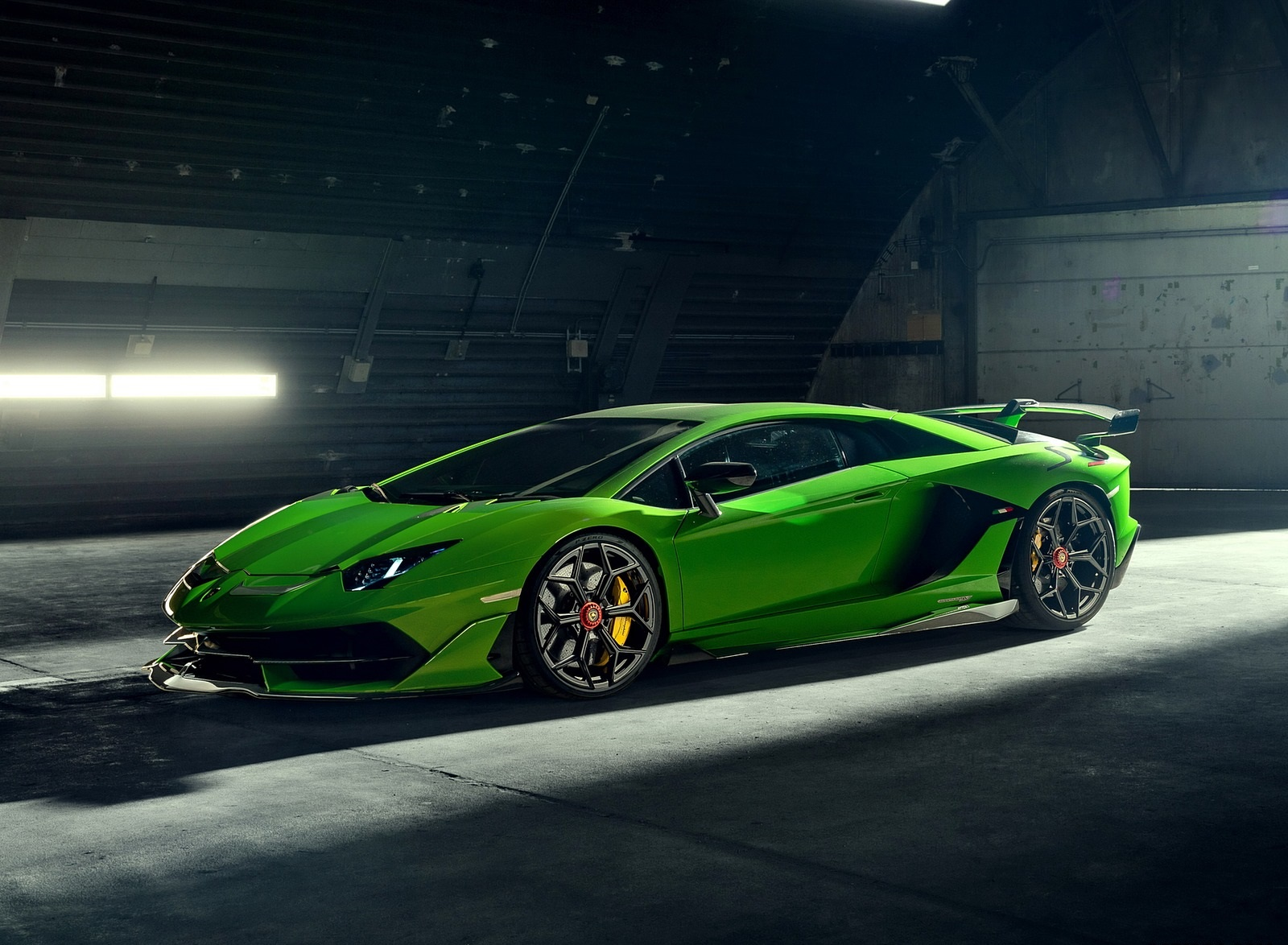 2020 NOVITEC Lamborghini Aventador SVJ Front Three-Quarter Wallpapers (1)