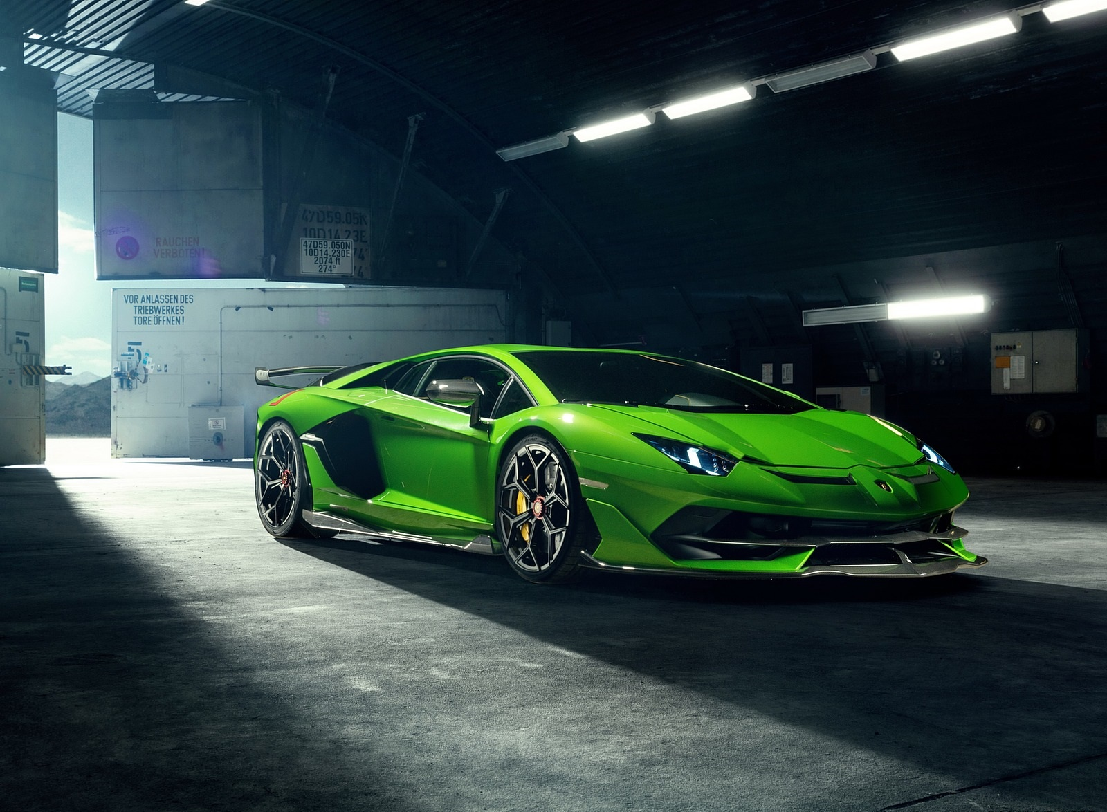 2020 NOVITEC Lamborghini Aventador SVJ Front Three-Quarter Wallpapers (3)