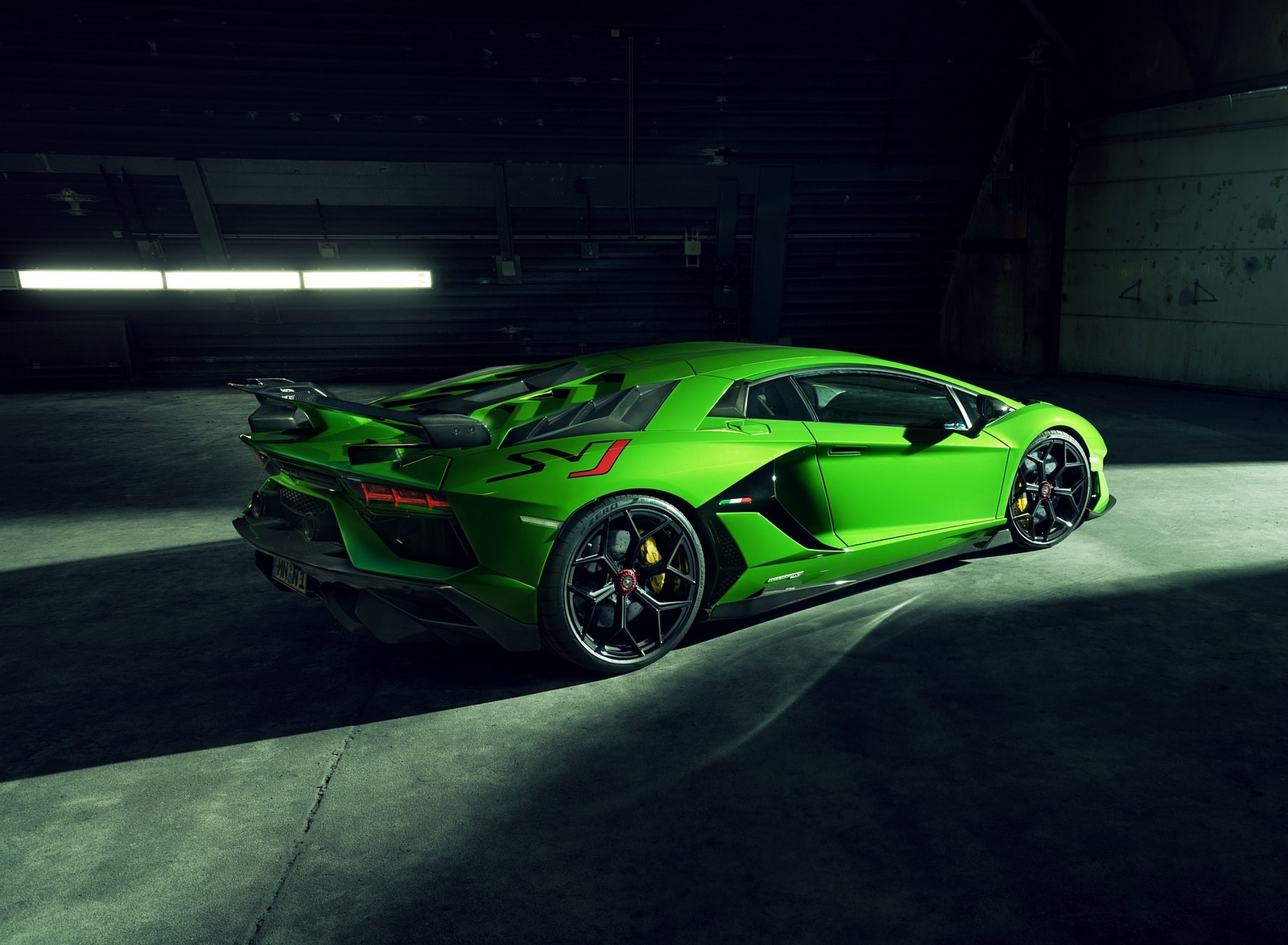 2020 NOVITEC Lamborghini Aventador SVJ Rear Three-Quarter Wallpapers (7)