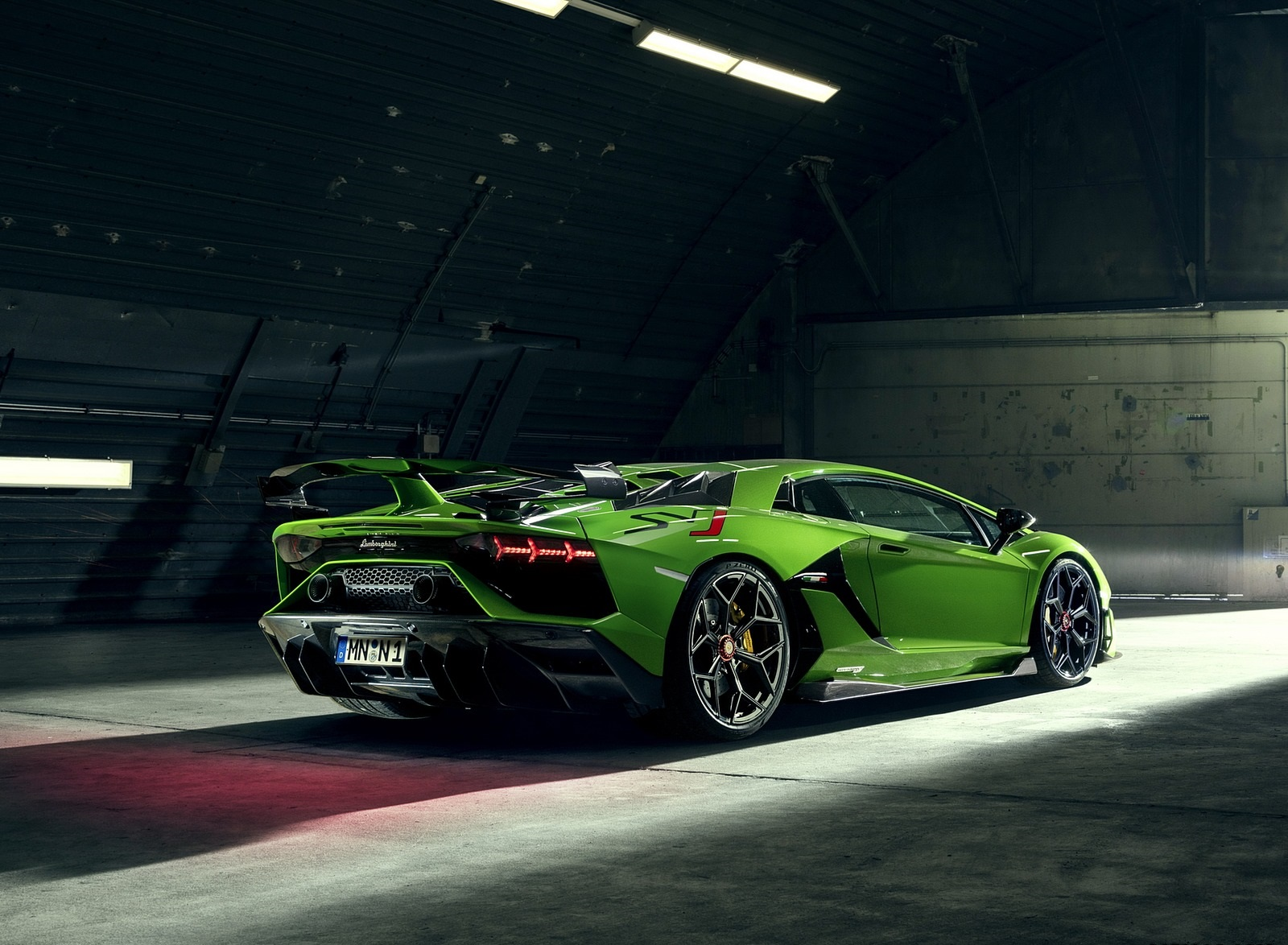 2020 NOVITEC Lamborghini Aventador SVJ Rear Three-Quarter Wallpapers (8)