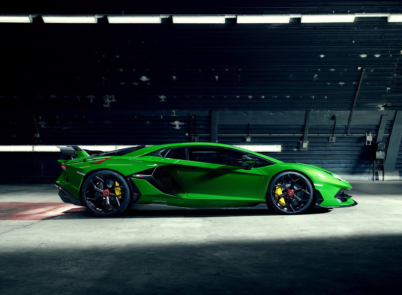 2020 NOVITEC Lamborghini Aventador SVJ Side Wallpapers (4)