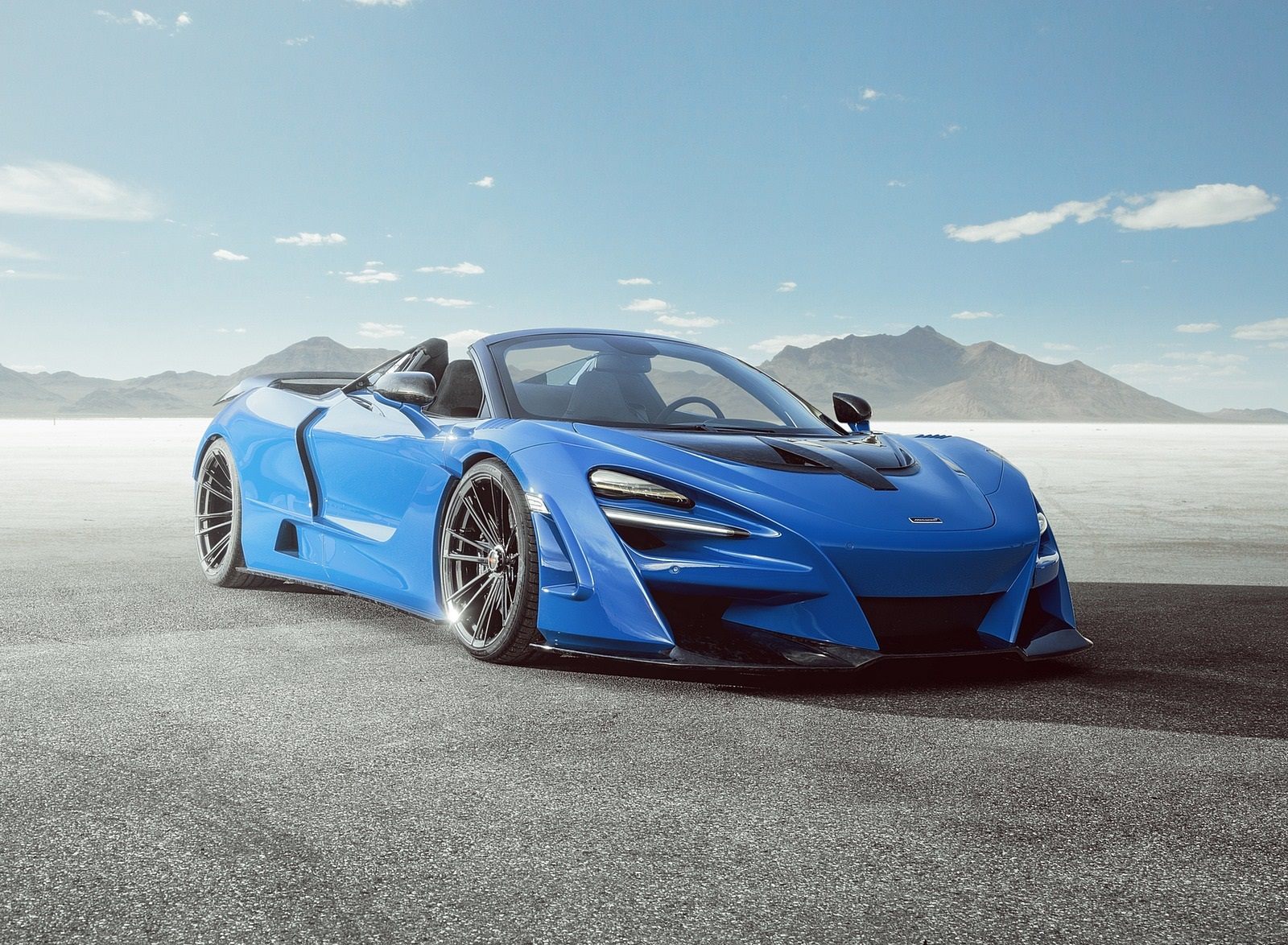 2020 NOVITEC N-LARGO based on McLaren 720S Spider Front Three-Quarter Wallpapers (1)