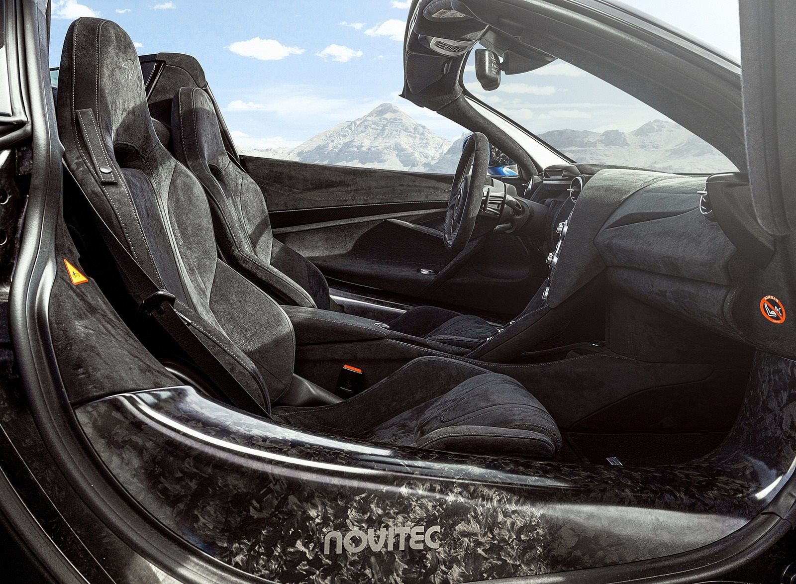 2020 NOVITEC N-LARGO based on McLaren 720S Spider Interior Wallpapers (9)