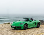 2020 Porsche 718 Boxster GTS 4.0 (Color: Phyton Green) Front Three-Quarter Wallpapers 150x120 (22)