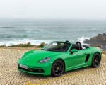 2020 Porsche 718 Boxster GTS 4.0 (Color: Phyton Green) Front Three-Quarter Wallpapers 150x120 (19)