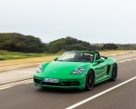 2020 Porsche 718 Boxster GTS 4.0 (Color: Phyton Green) Front Three-Quarter Wallpapers 150x120 (6)