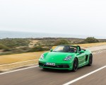 2020 Porsche 718 Boxster GTS 4.0 (Color: Phyton Green) Front Three-Quarter Wallpapers 150x120 (2)