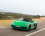 2020 Porsche 718 Boxster GTS 4.0 (Color: Phyton Green) Front Wallpapers 150x120 (3)