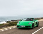 2020 Porsche 718 Boxster GTS 4.0 (Color: Phyton Green) Front Wallpapers 150x120 (4)