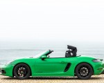 2020 Porsche 718 Boxster GTS 4.0 (Color: Phyton Green) Side Wallpapers 150x120 (29)