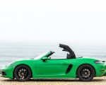 2020 Porsche 718 Boxster GTS 4.0 (Color: Phyton Green) Side Wallpapers 150x120 (30)