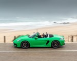 2020 Porsche 718 Boxster GTS 4.0 (Color: Phyton Green) Side Wallpapers 150x120 (16)