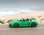 2020 Porsche 718 Boxster GTS 4.0 (Color: Phyton Green) Side Wallpapers 150x120 (17)