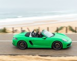 2020 Porsche 718 Boxster GTS 4.0 (Color: Phyton Green) Side Wallpapers 150x120 (18)