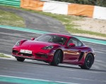 2020 Porsche 718 Cayman GTS 4.0 (Color: Carmine Red) Front Three-Quarter Wallpapers 150x120 (13)