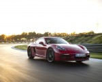 2020 Porsche 718 Cayman GTS 4.0 (Color: Carmine Red) Front Three-Quarter Wallpapers 150x120 (2)