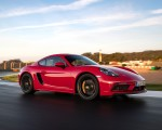 2020 Porsche 718 Cayman GTS 4.0 (Color: Carmine Red) Front Three-Quarter Wallpapers 150x120 (16)