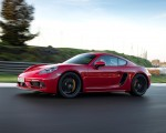 2020 Porsche 718 Cayman GTS 4.0 (Color: Carmine Red) Front Three-Quarter Wallpapers 150x120 (5)