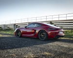 2020 Porsche 718 Cayman GTS 4.0 (Color: Carmine Red) Rear Three-Quarter Wallpapers 150x120 (35)