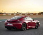 2020 Porsche 718 Cayman GTS 4.0 (Color: Carmine Red) Rear Three-Quarter Wallpapers 150x120 (29)