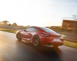 2020 Porsche 718 Cayman GTS 4.0 (Color: Carmine Red) Rear Three-Quarter Wallpapers 150x120 (6)