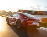 2020 Porsche 718 Cayman GTS 4.0 (Color: Carmine Red) Rear Three-Quarter Wallpapers 150x120 (7)