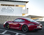 2020 Porsche 718 Cayman GTS 4.0 (Color: Carmine Red) Rear Three-Quarter Wallpapers 150x120 (34)