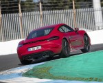 2020 Porsche 718 Cayman GTS 4.0 (Color: Carmine Red) Rear Wallpapers 150x120 (19)