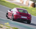 2020 Porsche 718 Cayman GTS 4.0 (Color: Carmine Red) Rear Wallpapers 150x120 (20)