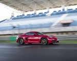 2020 Porsche 718 Cayman GTS 4.0 (Color: Carmine Red) Side Wallpapers 150x120 (23)