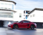 2020 Porsche 718 Cayman GTS 4.0 (Color: Carmine Red) Side Wallpapers 150x120 (26)