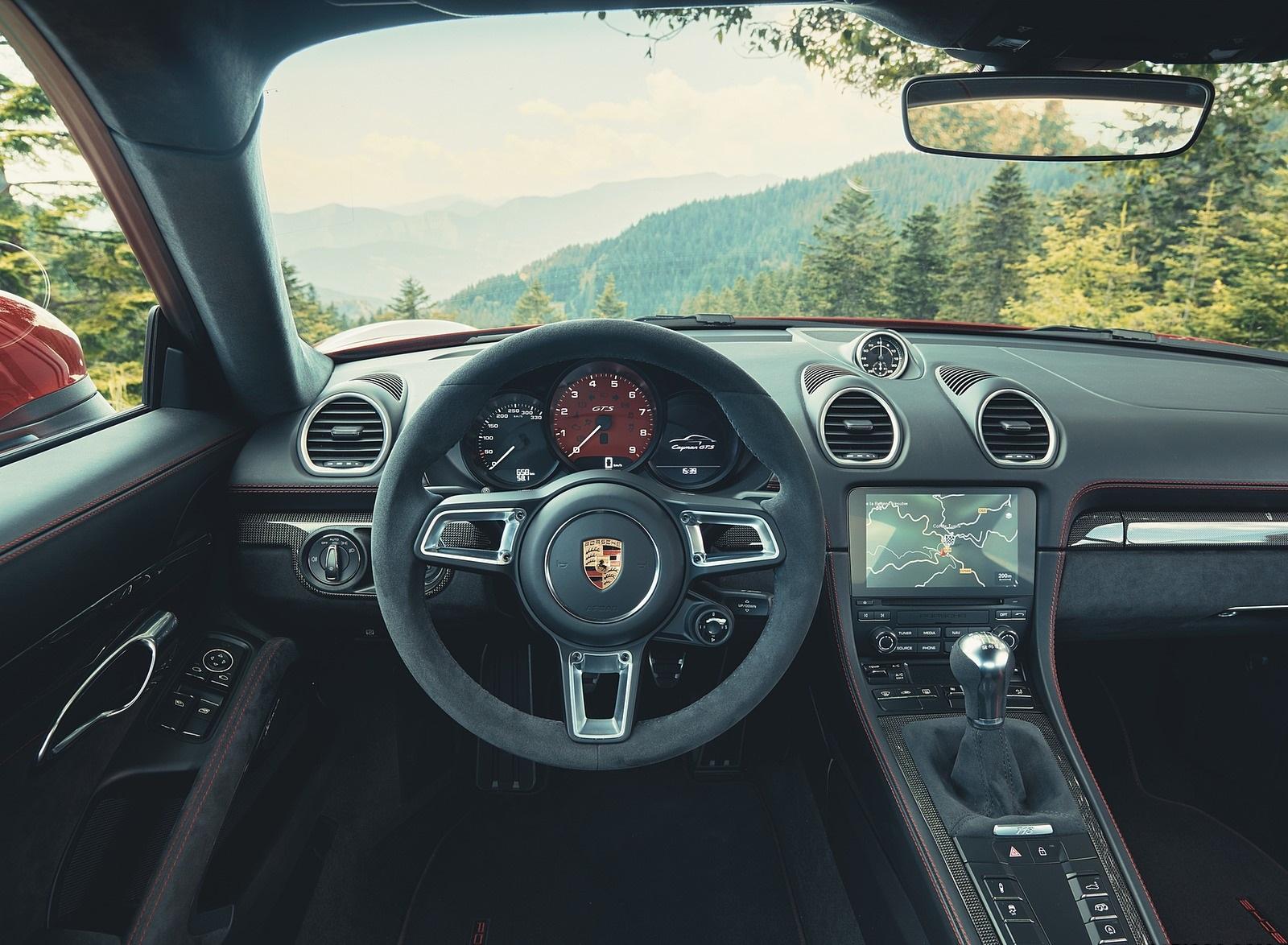 2020 Porsche 718 Cayman GTS 4.0 Interior Cockpit Wallpapers (4)