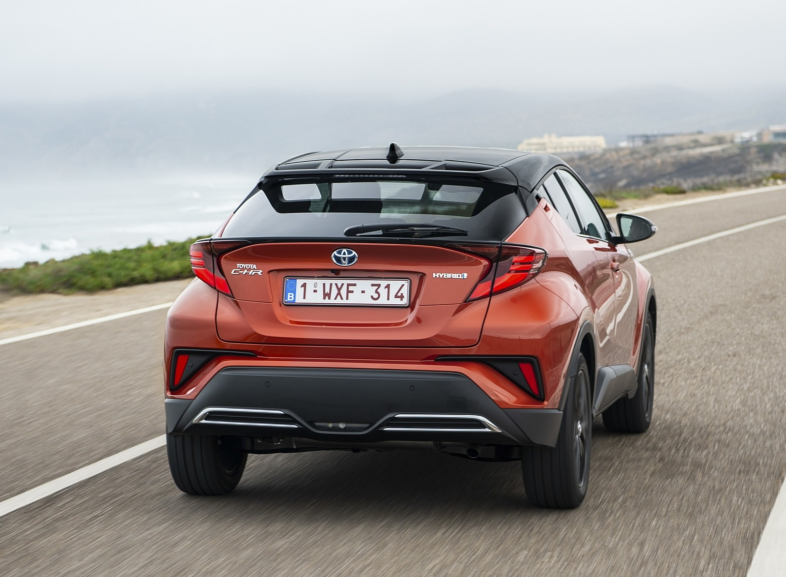 2020 Toyota C-HR Hybrid (Euro-Spec) Rear Wallpapers (10)
