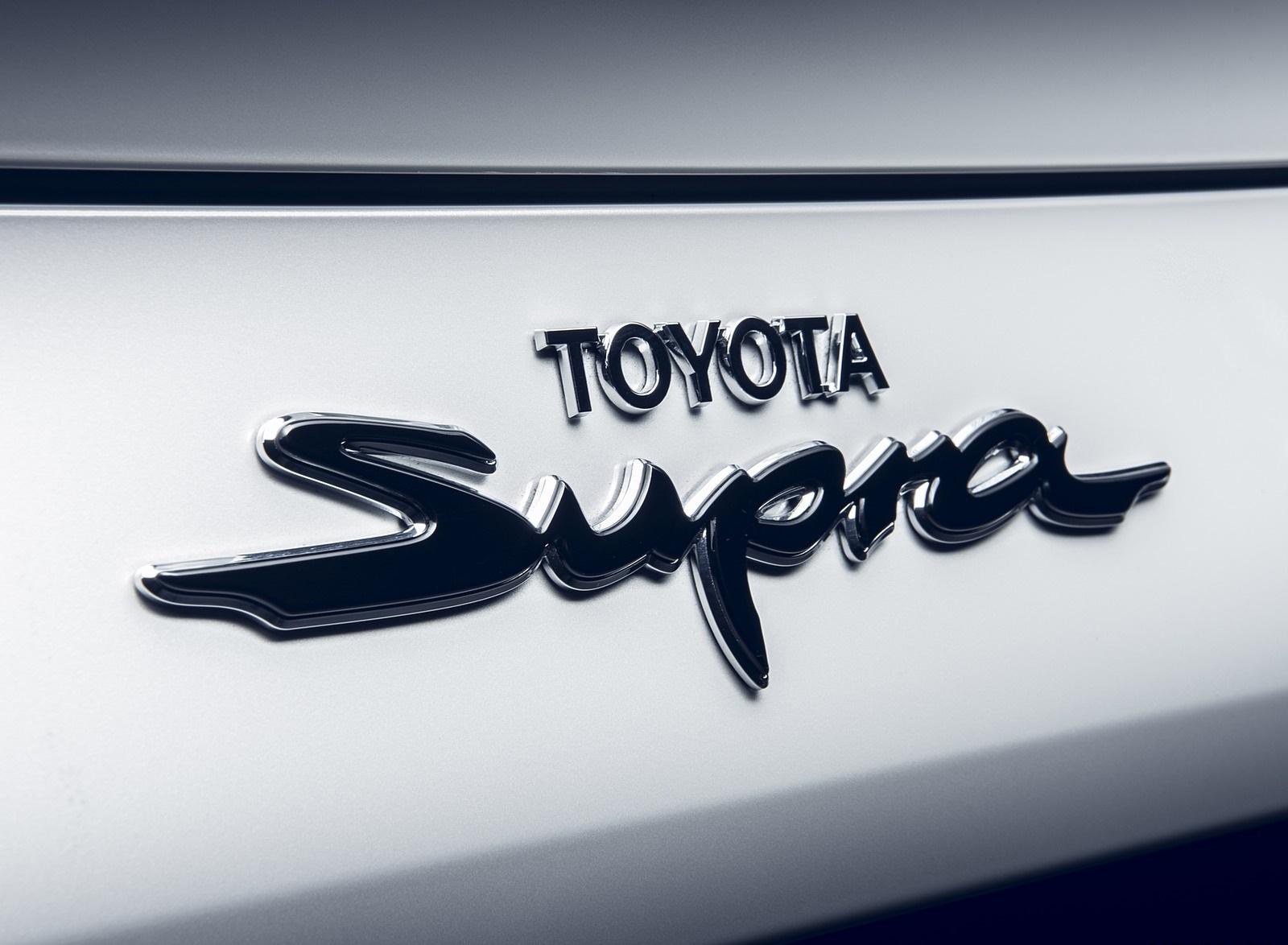 2020 Toyota GR Supra 2.0L Badge Wallpapers (8)