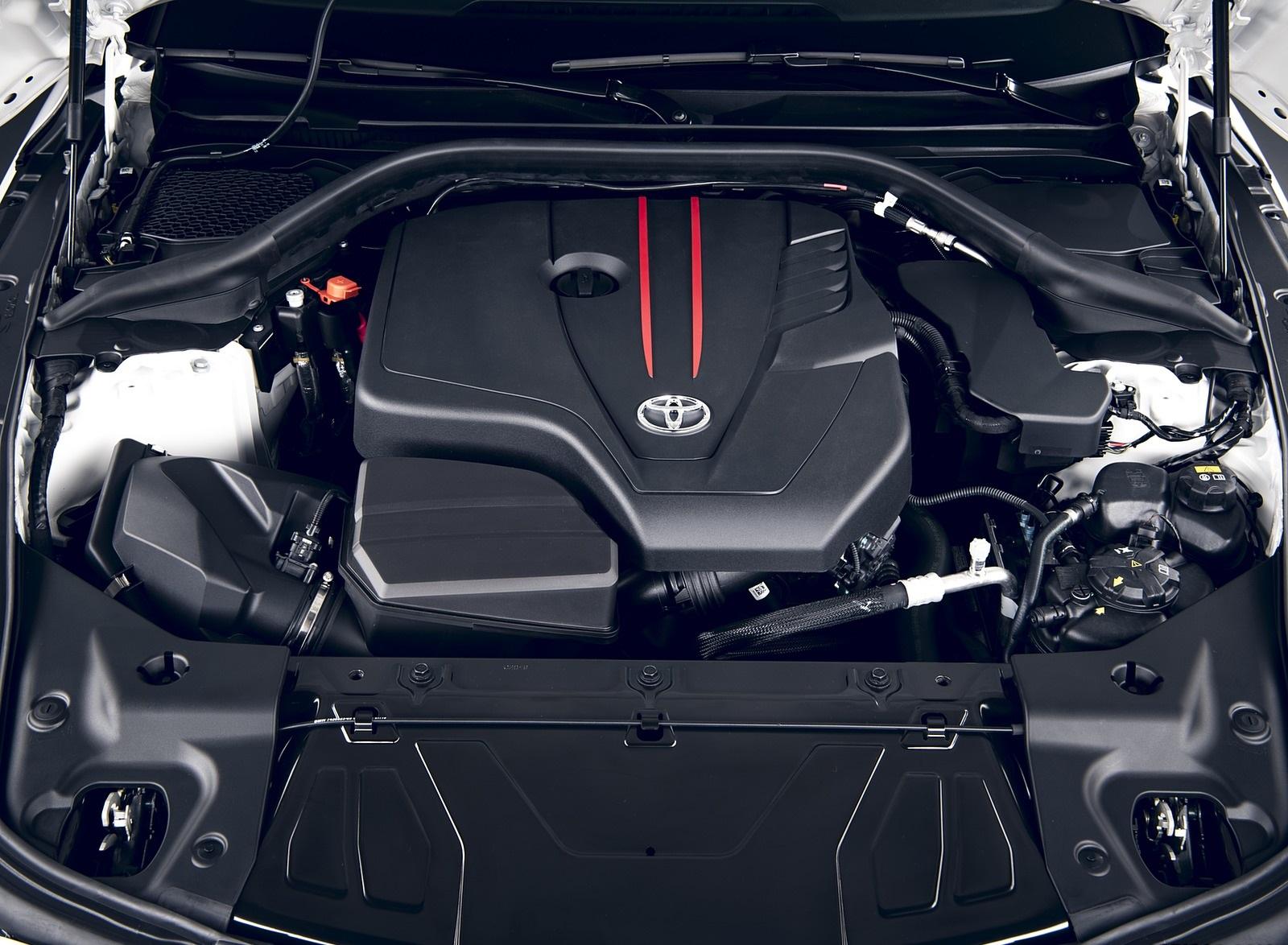 2020 Toyota GR Supra 2.0L Engine Wallpapers (9)