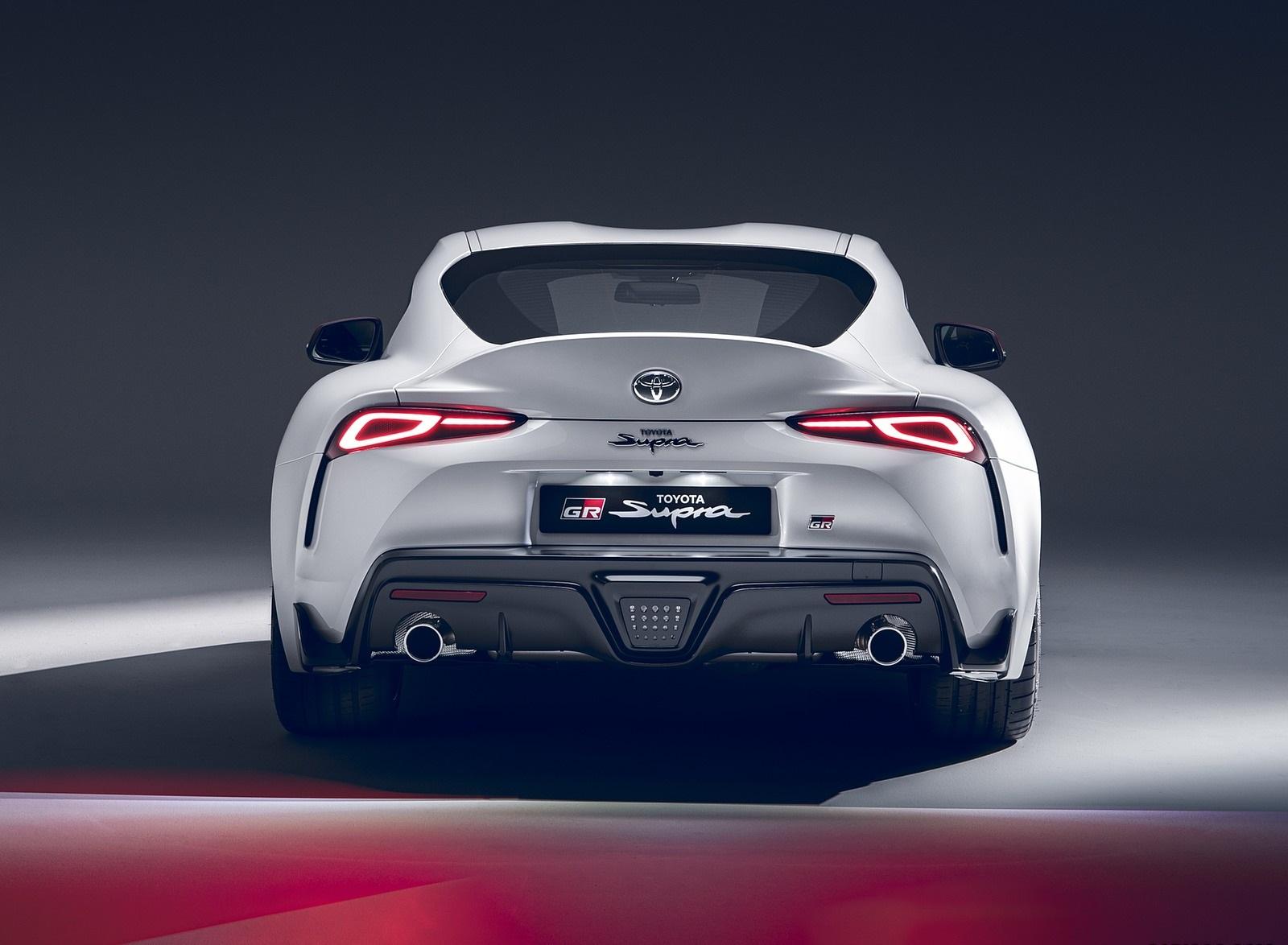 2020 Toyota GR Supra 2.0L Rear Wallpapers (5)