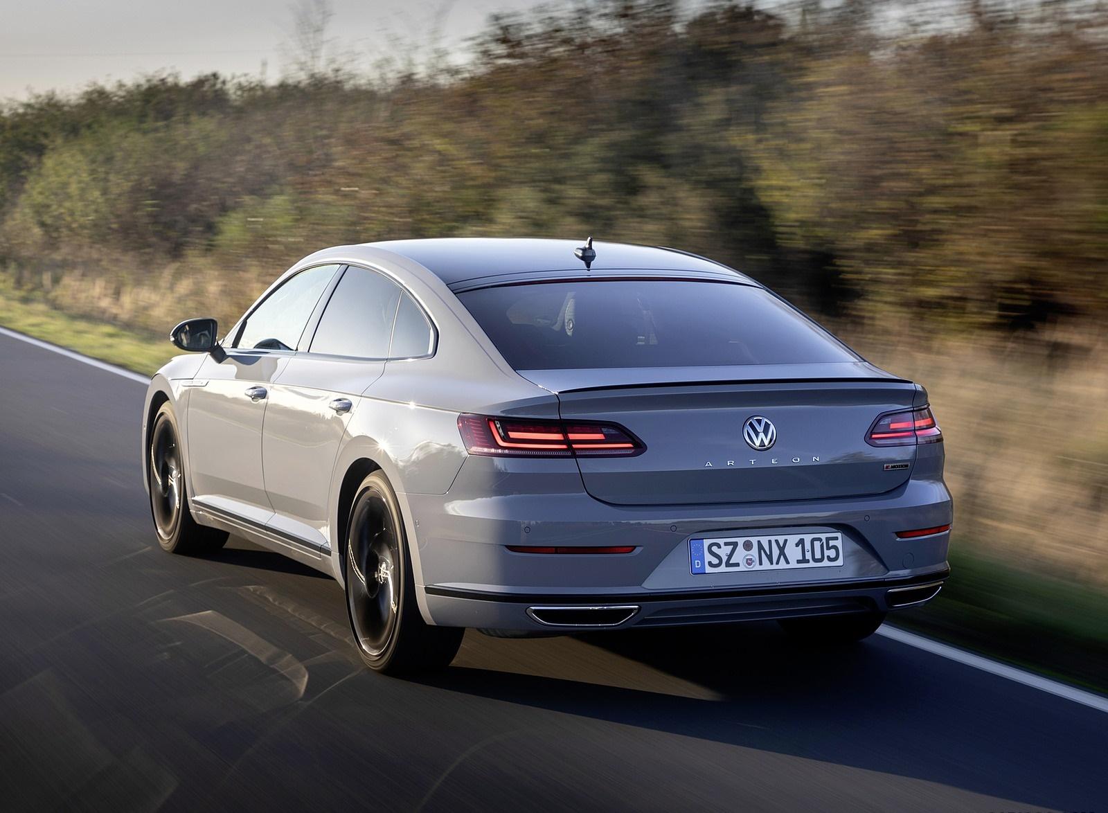 2020 Volkswagen Arteon R-Line Edition Rear Three-Quarter Wallpapers (7)